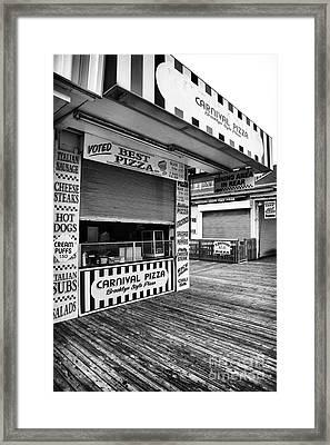 Brooklyn Pizza Framed Print by John Rizzuto