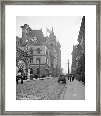 Brooklyn Post Office Framed Print by Granger