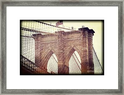 Brooklyn Pride Framed Print by Paul Cammarata