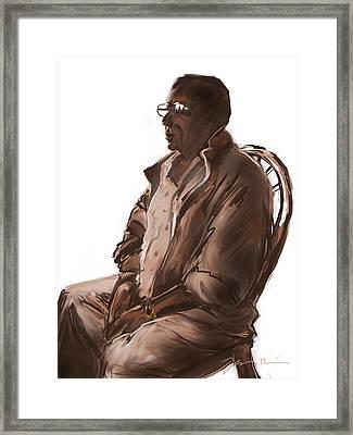 Brooklyn Steve Framed Print