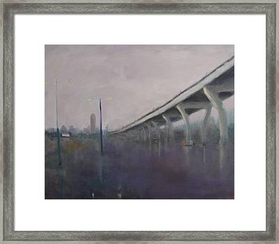 Brooklyn Underpass Framed Print