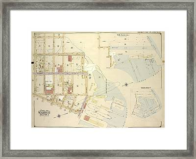 Brooklyn, Vol. 1, Double Page Plate No. 12 Part Of Ward 12 Framed Print by Litz Collection