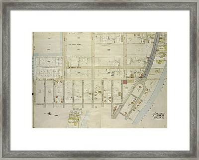 Brooklyn, Vol. 7, Double Page Plate No. 27 Part Of Ward 31 Framed Print by Litz Collection