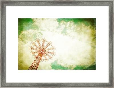 Brooklyn's Eiffel Tower Framed Print by Takeshi Okada