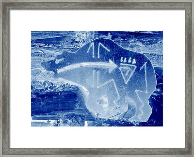 Framed Print featuring the photograph Brother Bear 4 by Larry Campbell