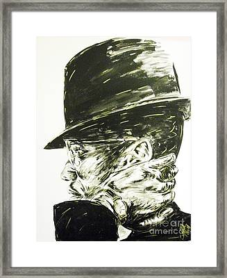 Brother Malcolm Framed Print by Patrick Smith