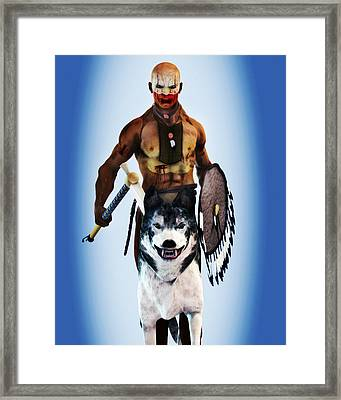 Brother Wolf Framed Print by Giancarlo Fusco