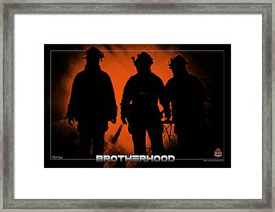 Brotherhood 1 Framed Print by Mitchell Brown