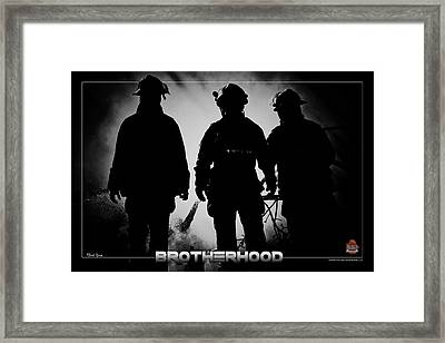 Brotherhood 2 Framed Print by Mitchell Brown