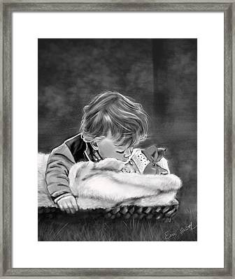 Brotherly Love Framed Print by Eric Smith