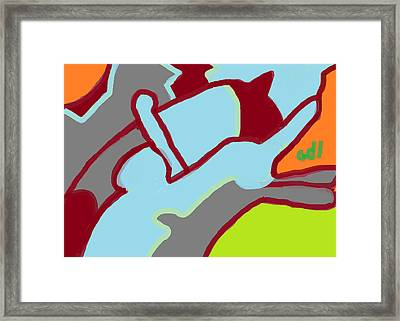 Brothers Framed Print by Anita Dale Livaditis