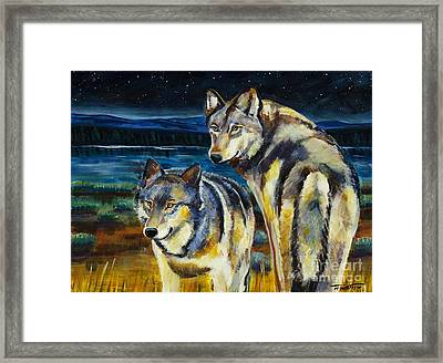 Brothers Framed Print by Harriet Peck Taylor