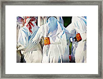 Brothers In Arms Framed Print by Peter Waters