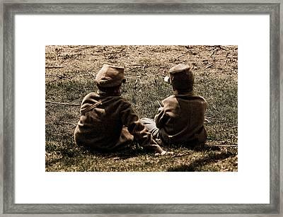 Brothers Framed Print by Joe Scott