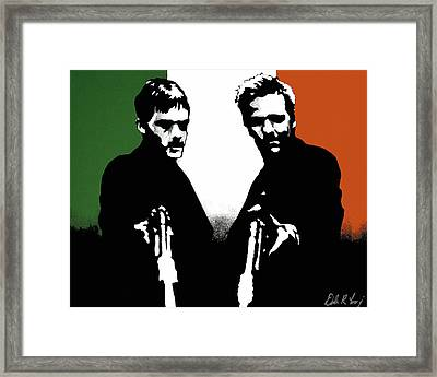 Brothers Killers And Saints Framed Print