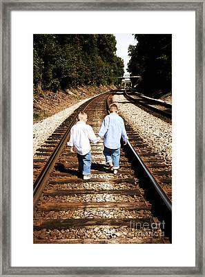 Brothers Framed Print by Suzi Nelson
