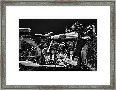 Brough Superior Framed Print by Tim Gainey
