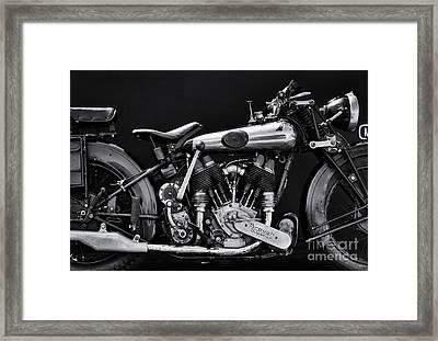 Brough Superior Framed Print