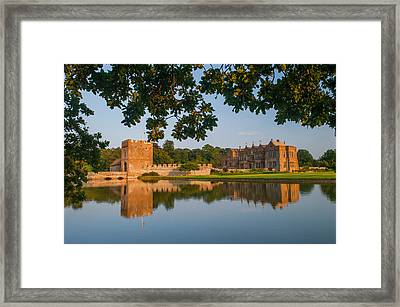 Broughton Castle Framed Print by David Ross
