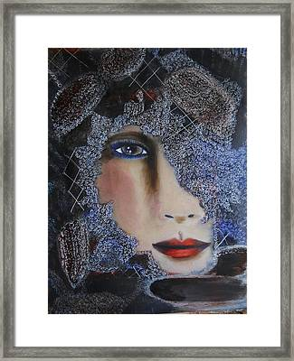 Brown 8 Framed Print by Suzanne Thomas