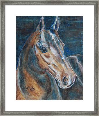 Brown Beauty  Framed Print by Patricia Olson