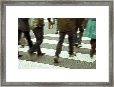 Brown Boots Framed Print by Steven Michael
