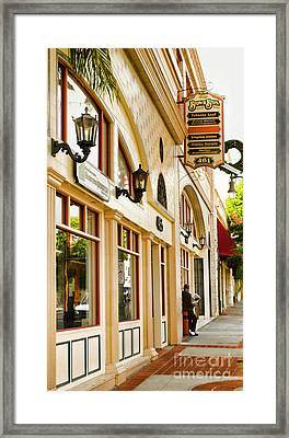 Brown Bros Building Framed Print