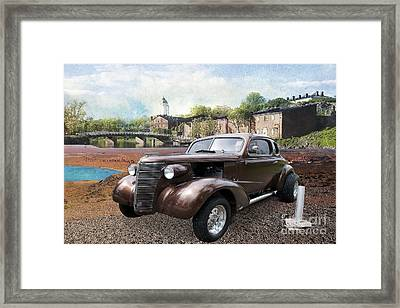 Brown Classic Collector Framed Print by Liane Wright