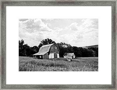 Brown County Barn II Framed Print by Off The Beaten Path Photography - Andrew Alexander
