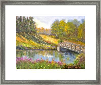Brown County Hills Framed Print