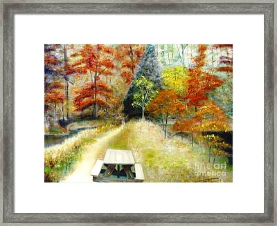 Brown County Framed Print