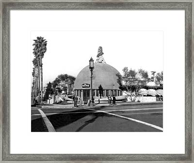 Brown Derby Restaurant Framed Print