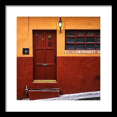 San Miguel De Allende Photographs Framed Prints