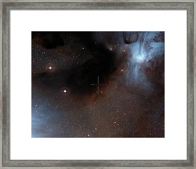 Brown Dwarf Iso-oph 102 Framed Print