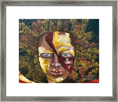 The Price Of Beauty Framed Print