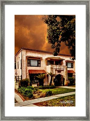 Brown House 2 Framed Print by Bob Winberry