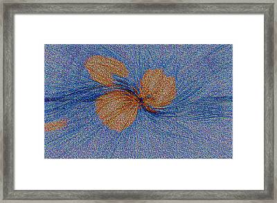 Brown Leaf Afloat Framed Print by Bruce Iorio