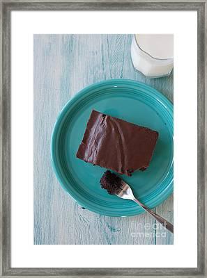Brownie For Breakfast Framed Print by Kay Pickens