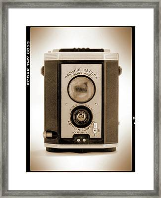 Brownie Reflex Framed Print