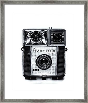 Brownie Starmite II Camera Framed Print