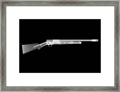 Browning Fn A5 Framed Print by Ray Gunz