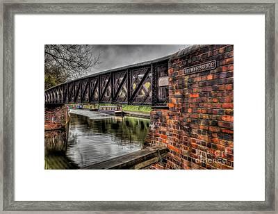 Browns Bridge England Framed Print by Adrian Evans