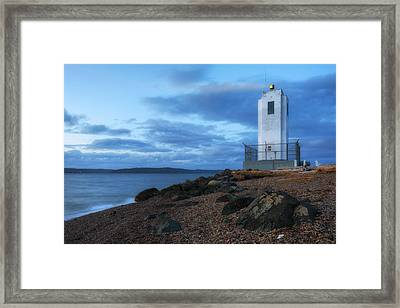 Browns Point Light Framed Print