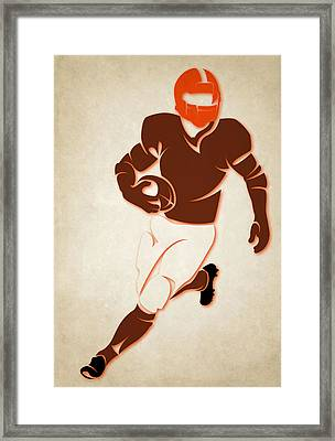 Browns Shadow Player Framed Print