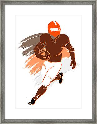 Browns Shadow Player2 Framed Print