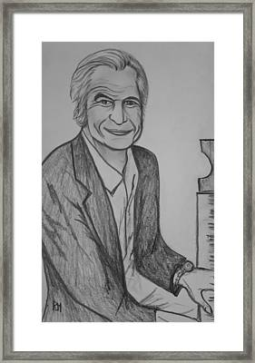 Brubeck Framed Print by Pete Maier