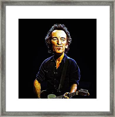 Bruce Framed Print by Bill Cannon