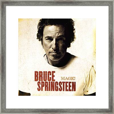 Framed Print featuring the photograph Bruce by Bruce