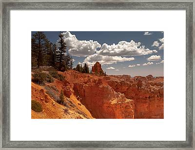 Bryce Canyon Sky  Framed Print