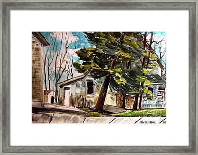 Bruce Framed Print by Charlie Spear